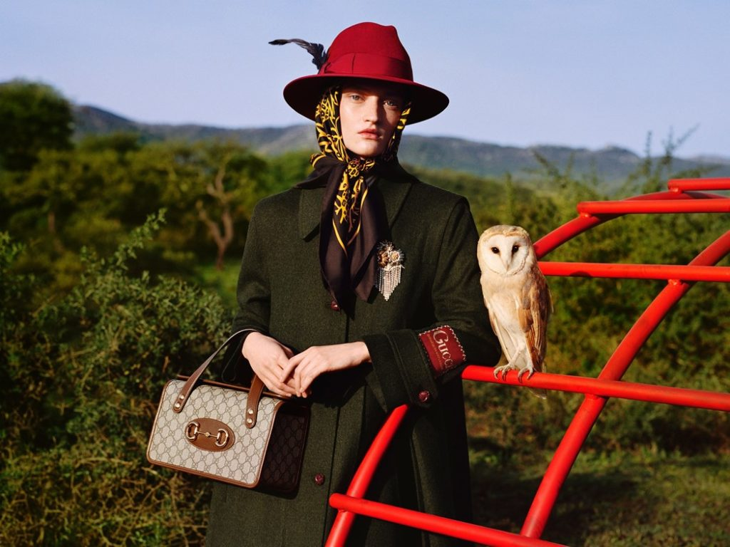Gucci Pre-Fall 2020. Ad Campaign by Christopher Simmonds & Alasdair McLellan
