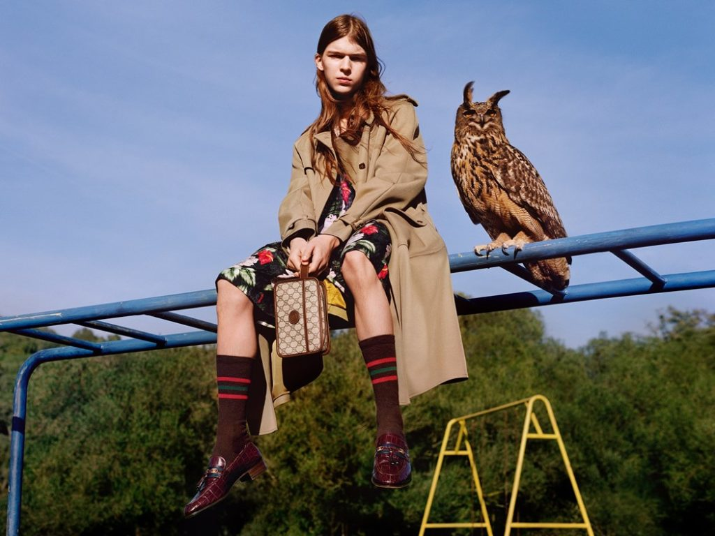 Gucci Pre-Fall 2020. Ad Campaign by Christopher Simmonds & Alasdair McLellan (6)
