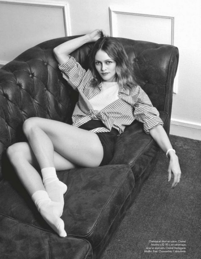 Vanessa Paradis In ELLE Magazine France 2020 Issue