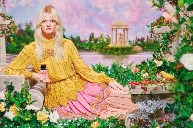 Gucci Flora Fragrance Spring 2020 Campaign by Pierre et Gilles