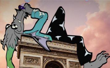 Virgil Abloh racconta l'uomo Louis Vuitton con un cartoon