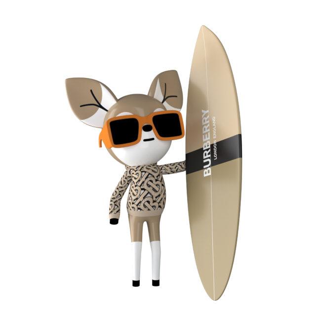 Burberry lancia B Surf
