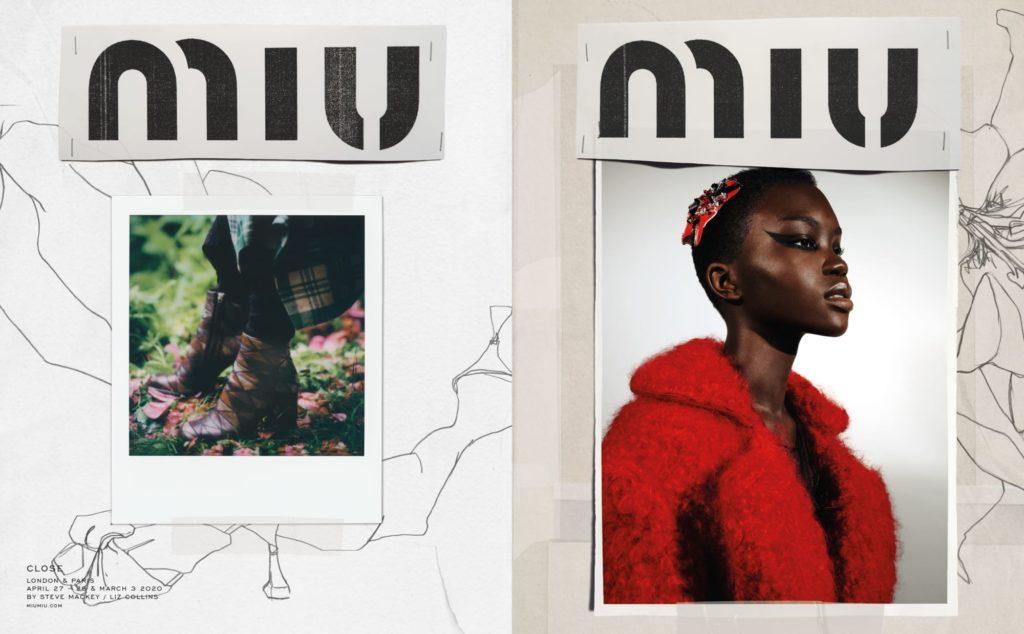 Miu Miu Close Fall 2020 Campaign by Katie Grand