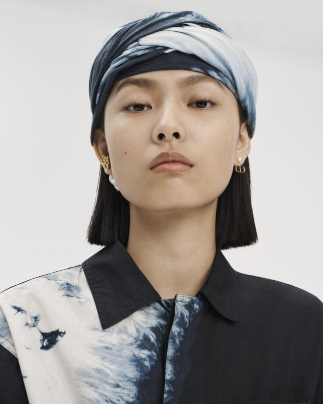 Dior Fall 20 Tie & Dye prints