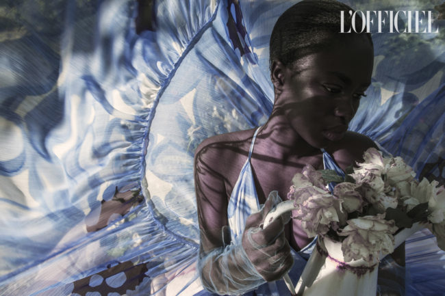 """Four elelments"" - A new fashion editorial for @LofficielAU by Mauro Lorenzo"
