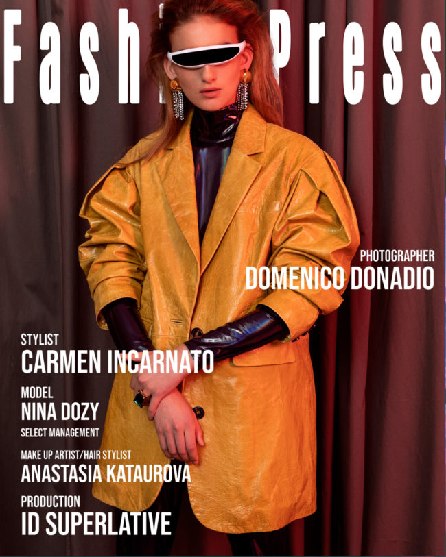 Stay Tuned - Exclusive Editorial for FashionPress.it by Domenico Donadio