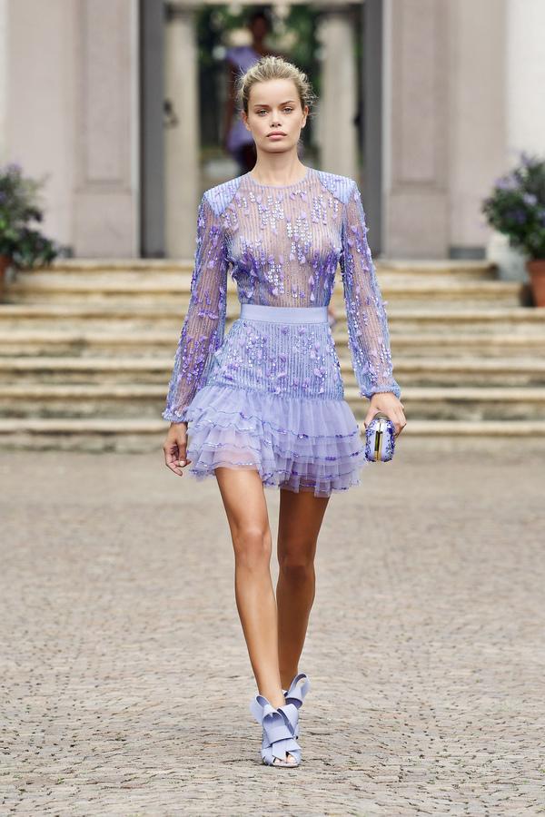 Elisabetta Franchi Spring Summer 2021 Fashion Show fashionpress.it