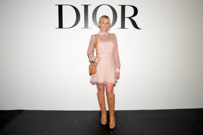 Dior show Arrivals Paris Fashion Week: Camille Cottin, Ludivine Sagnier and Emmanuelle Devos