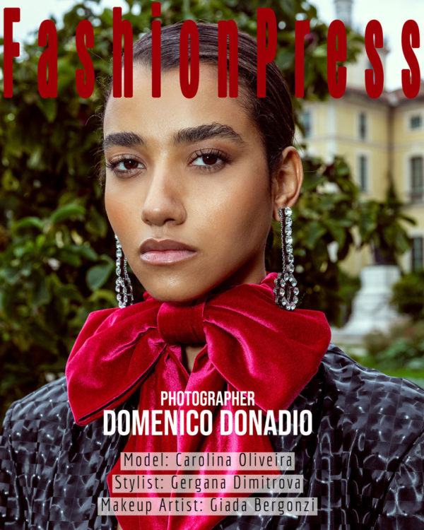 Domenico Donadio Exclusively for Fashionpress.it with Carolina Oliveira
