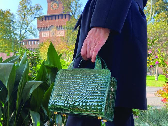 "Giòsa Milano lancia la borsa ""The Cube"""