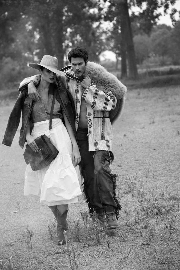 """Reborn Love Story"": Pascal & Silke for L'Officiel Lithuania by Zeger Garré"