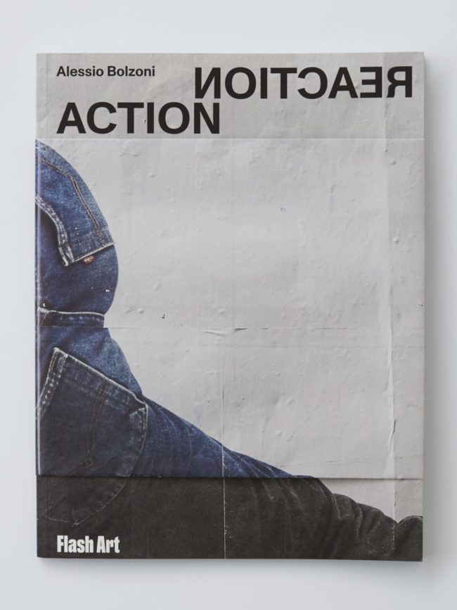 """ACTION REACTION"" il billboard project di Alessio Bolzoni per Milano, curato da Teresa Macrì, è ora un libro, edito da Flash Art"