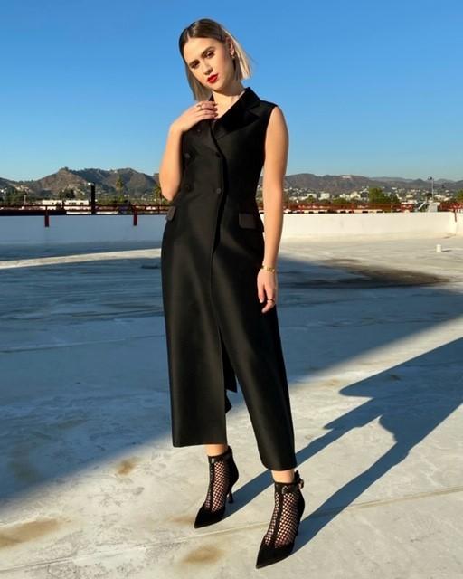 Maria Bakalova wore a Dior