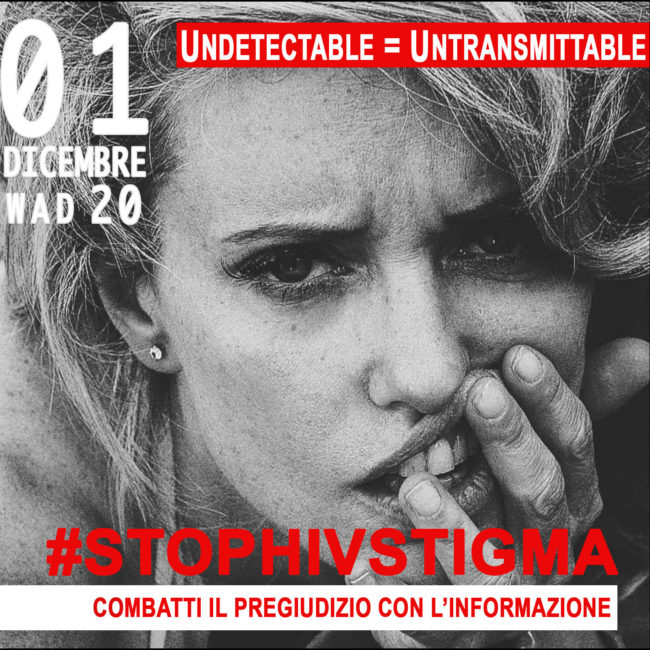 World Aids Day 2020 | Campagna #StopHIVStigma