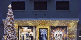 A new Dior pop-up store in Cortina