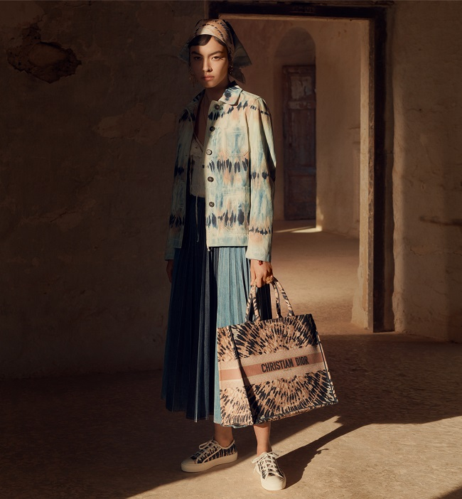 Dior presents The Tie & Dye Creations