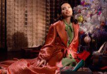 """Roger Vivier - """"Neverending Christmas"""" starring Virginie Ledoyen"""