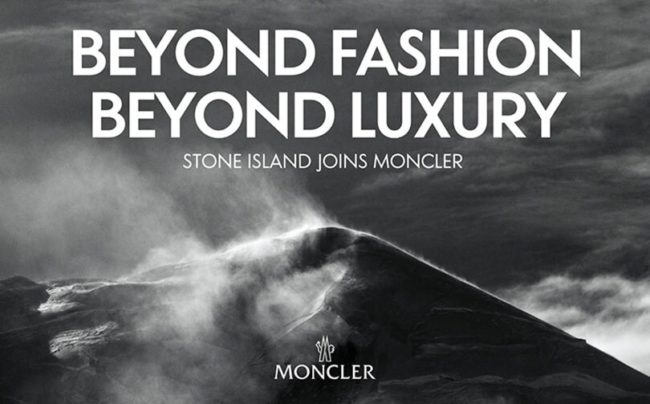 Moncler Acquires Stone Island
