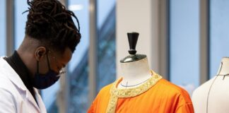 #DiorWinter21 Orange Caftan | Savoir-Faire