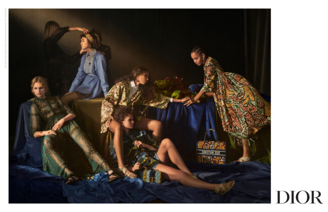 Dior's Baroque paintings for the SS21 Campaign