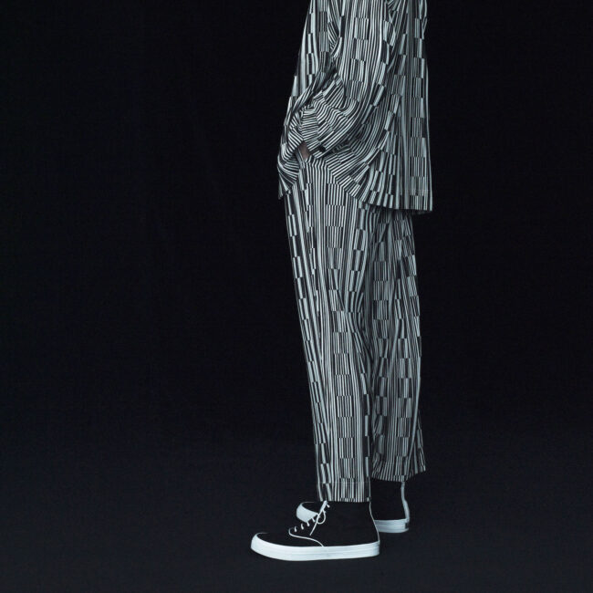 Homme Plisse' Issey Miyake SS21 | progetto Sneakers con Wakouwa