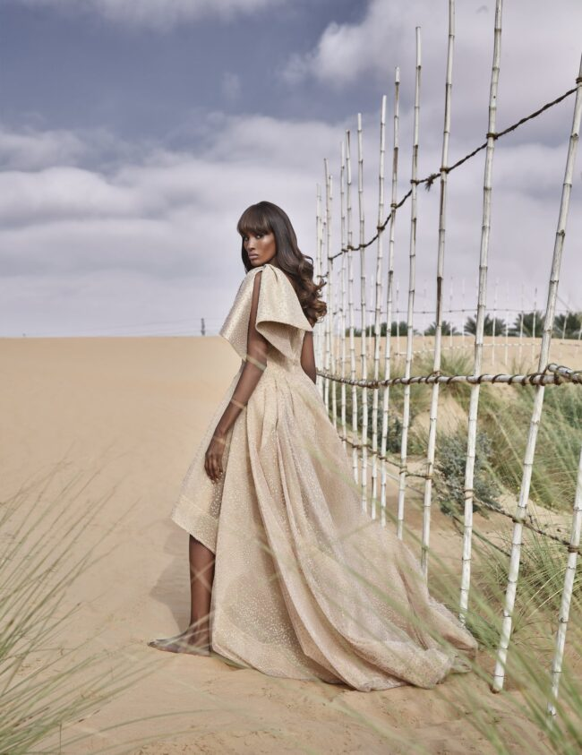Avaro Figlio on 1st Black model in the Emirates Fashion Industry