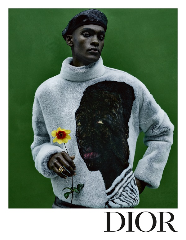 Amoako Boafo's Rich Palette Informs Dior's Summer 2021 Campaign Imagery