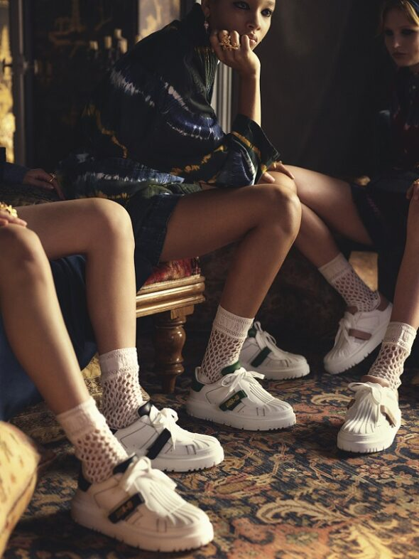 Dior unveils new version of the Dior ID sneakers fashionpress.it