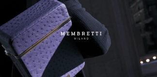 Brevettata un'idea Membretti: l'esclusivo zaino alla Milano fashion Week