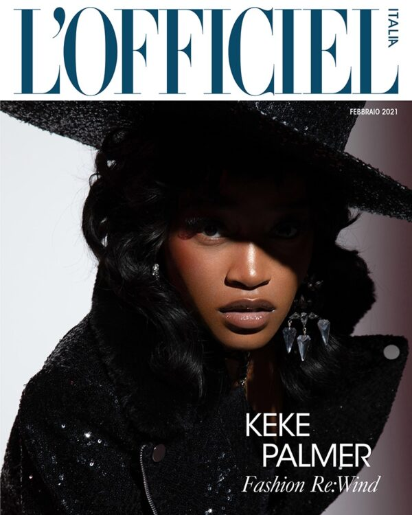 Keke Palmer By Quintin and Ron For L'Officiel Italia February 2021