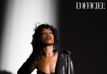 Keke Palmer By Quintin and Ron For L'Officiel Italia