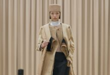 Burberry Autumn/Winter 2021 womenswear presentation by Riccardo Tisci