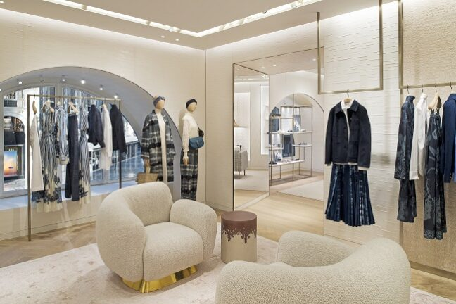 Dior presents the opening of a new store in Milan's Galleria Vittorio Emanuele II