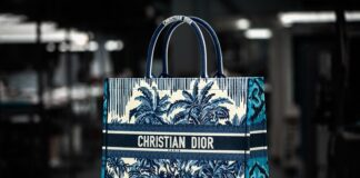 Dior Book Tote Palms Savoir-Faire fashionpress.it