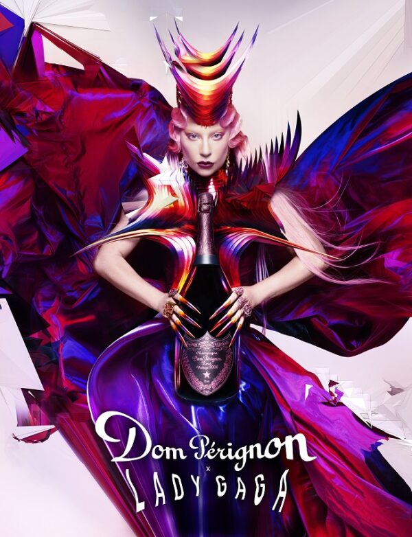 Dom Pérignon x Lady Gaga fashionpress.it