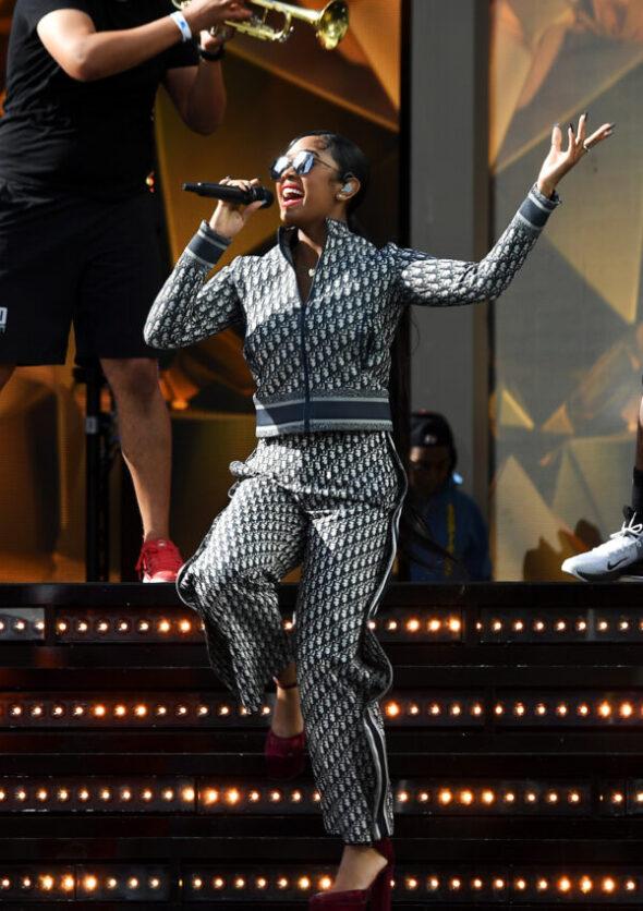 Dior presents H.E.R. dressed in Dior by Maria GraziaChiuri to the Billboard Music Awards 2021