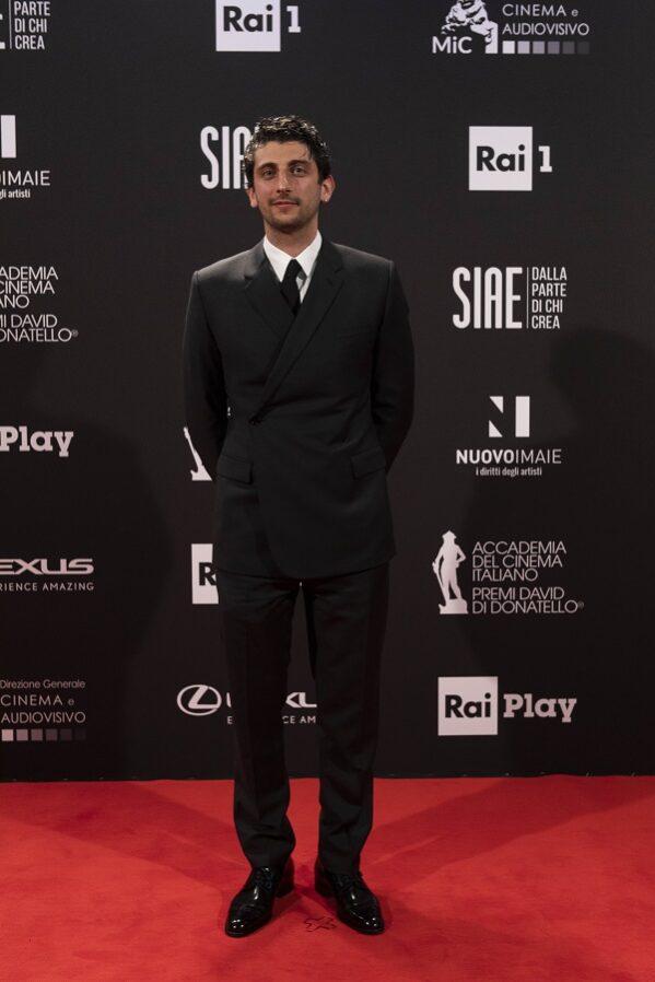 Dior presentsPietro Castellitto - 66th David di Donatello Awards