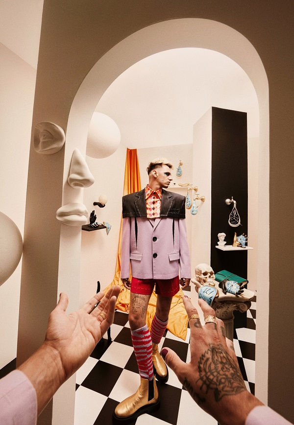 Achille Lauro by Nima Benati x Amazon
