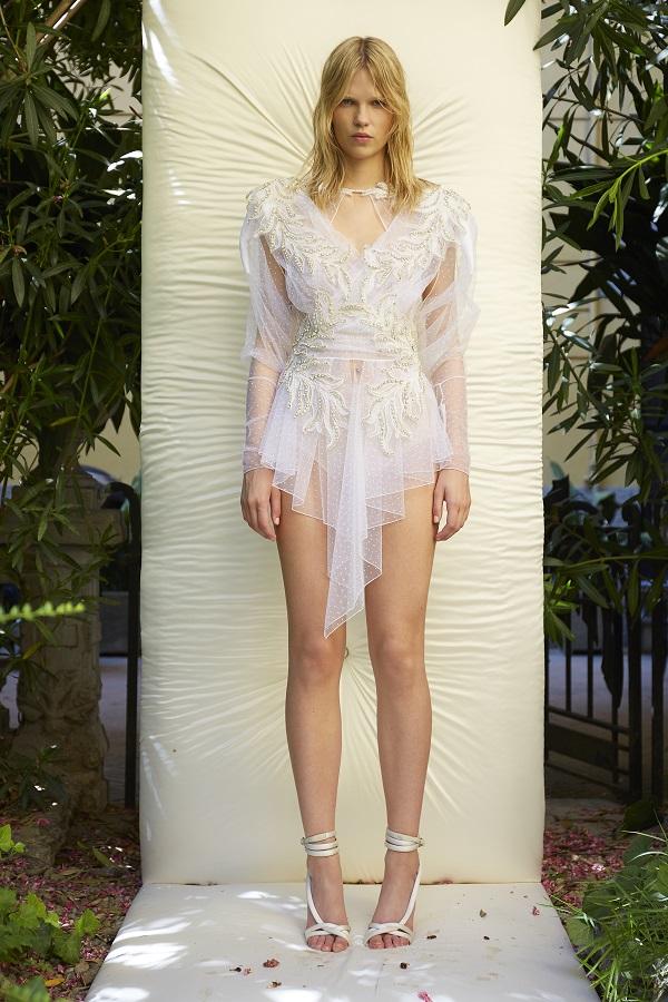 2021 Couture Francesco Scognamiglio presenta Monogram from the Sea fashionpress.it