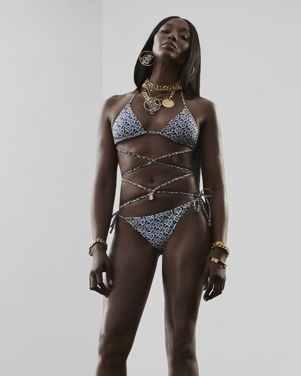 Burberry reveals its new TB Summer Monogram campaign with Naomi Campbell