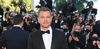 74th Cannes Film Festival — Matt Damon wearing Celine Homme