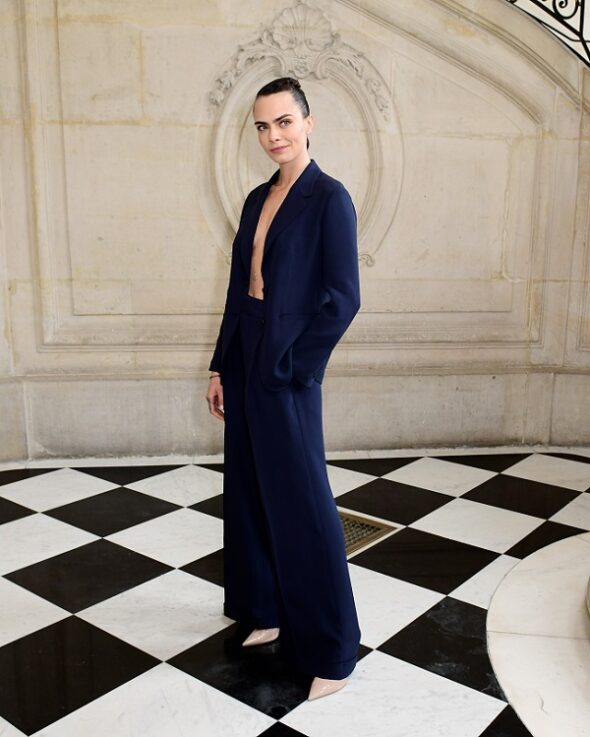 Dior presents the celebrities at the Haute CoutureAutumn-Winter 2021-2022 Show