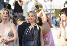 Alba Rohrwacher is dressed by Dior