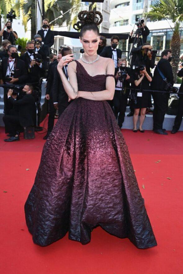 Cannes Film Festival Premiere: Coco Rocha Wore Christian Dior To The 'Aline, The Voice Of Love'