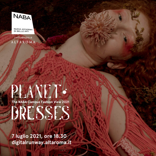 Planet Dresses - The NABA Campus Fashion View 2021