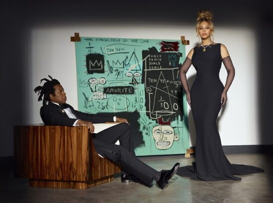 About Love:Beyoncé and Jay-Z pose for the Tiffany & Co.
