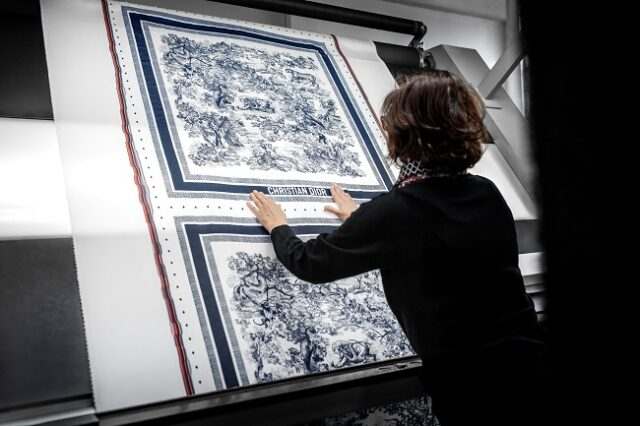 Dior presents the Savoir-Faire behind its Silk Scarves
