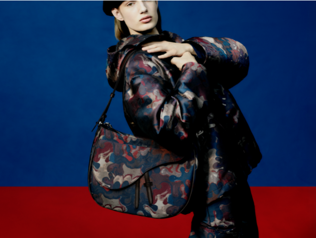 Dior presents theCamouflage designs created in collaboration withPeter Doig