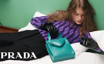 #FeelsLikePrada: a campaign about what it means to touch the #PradaFW21 collection