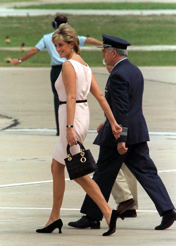 Lady Dior and its ties to Lady Diana